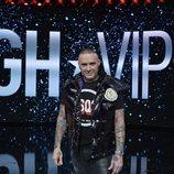 Dinio García, posando en la Gala Final de 'GH VIP 7'