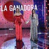 Alba Carrillo y Adara Molinero antes del anuncio de la ganadora de 'GH VIP 7'
