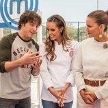 Jordi Cruz, Ona Carbonell y Samantha Vallejo en 'MasterChef Junior'