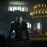 Geralt de Rivia (Henry Cavill), pensativo, en 'The Witcher'