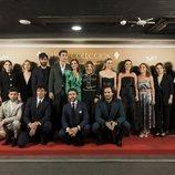 El reparto de 'Velvet Colección', con Teresa Fernández-Valdés y Gustavo Ron
