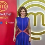 Samantha Vallejo-Nágera, jueza en 'MasterChef Junior 7'