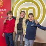 Juan, Lu y Albert, aspirantes de 'MasterChef Junior 7'