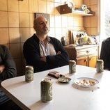 Raúl Árevalo, Roberto Álamo y Raúl Prieto en 'Antidisturbios'