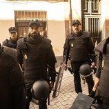 Los cinco protagonistas masculinos de 'Antidisturbios'