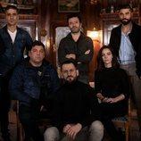 El reparto de 'Antidisturbios' junto a Rodrigo Sorogoyen