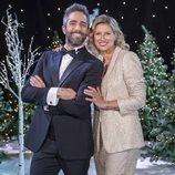 Roberto Leal y Anne Igartiburu en la presentación de las Campanadas 2019-2020 en RTVE