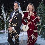 Roberto Leal y Anne Igartiburu, presentadores de las Campanadas 2019-2020 en RTVE