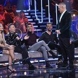 Jordi González charla con el Maestro Joao en el Debate Final de 'GH VIP 7'