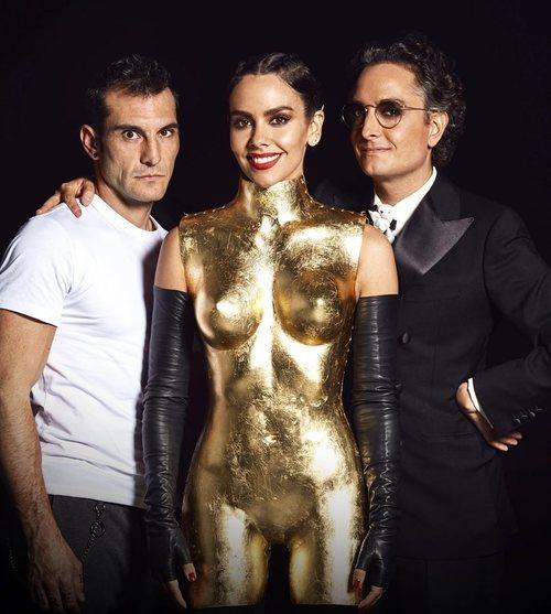 Jacinto de Manuel, Cristina Pedroche y Josie, responsables del vestido de las Campanadas 2019-2020