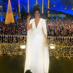 Paz Padilla luce su vestido en las Campanadas 2019-2020 en Telecinco