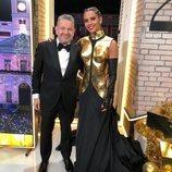 Alberto Chicote y Cristina Pedroche en las Campanadas 2019-2020 de Antena 3