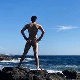 Luis Cepeda comparte su primer desnudo integral de 2020