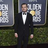 Leonardo Dicaprio en la alfombra roja de los Globos de Oro 2020