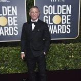Daniel Craig en la alfombra roja de los Globos de Oro 2020