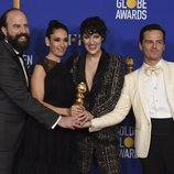 Parte del reparto principal de 'Fleabag', Mejor Serie Comedia en los Globos de Oro 2020