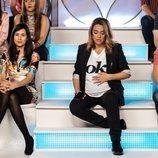 Recreación de 'Mujeres y hombres y viceversa' con Toñi Moreno en 'El cielo puede esperar'