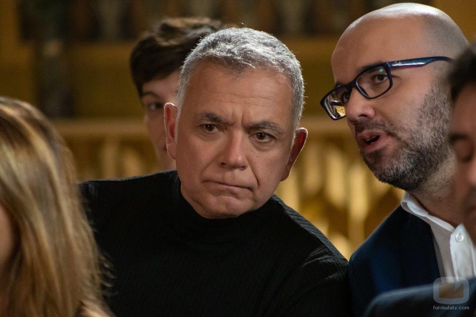 Juan Ramón Lucas y Borja Terán de funeral en 'El cielo puedo esperar'