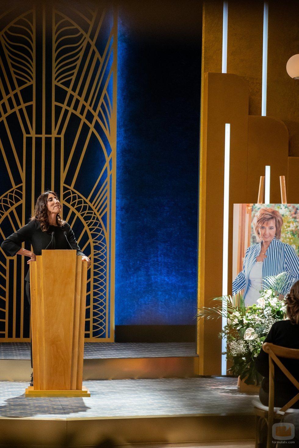 Paz Padilla en el funeral de María Teresa Campos en 'El cielo puede esperar'