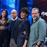 Natalia Jiménez, Javier Llano, Nina y Portu, jurado de 'OT 2020