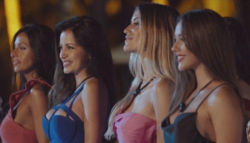 Mimi, Andreína, Casandra y Katerina, en el primer programa de 'La isla de las tentaciones'