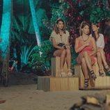 Susana, Fiama, Adelina, Fani y Sandra, en la ceremonia de la hoguera de 'La isla de las tentaciones'