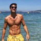 Cesc Escolà, profesor de fitness de 'OT 2020', posa sexy en la playa
