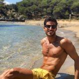 Cesc Escolà, profesor de 'OT 2020', muy sexy en la playa