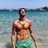 Cesc Escolà, de 'OT 2020', muy sexy en el mar