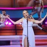 Cristina Ramos como Mónica Naranjo en la Gala 1 de 'Tu cara me suena 8'