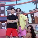 Gemeliers son Don Patricio y Cruz Cafuné en la Gala 1 de  'Tu cara me suena 8'