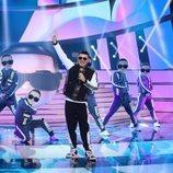 El Monaguillo como Daddy Yankee en la Gala 1 de 'Tu cara me suena 8'