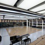 Sala de ensayo principal de la Academia de 'OT 2020'