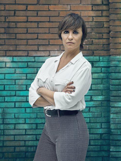 Eva (Melani Olivares) inspectora de Policía en 'Perdida'