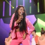 Nía Correia, en la Gala 0 de 'OT 2020'