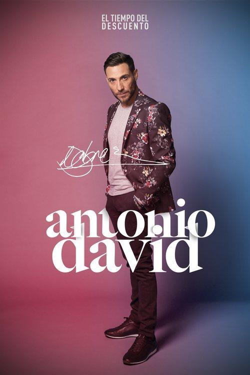 Posado de Antonio David Flores en 'El tiempo del descuento'