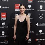 Núria Gago en la alfombra roja de los Premios Feroz 2020