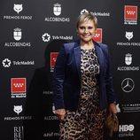 Gloria Serra, presentadora de 'Equipo de investigación', en los Premios Feroz 2020