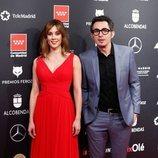 Eva Ugarte y Berto Romero en los Premios Feroz 2020