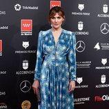 Marta Nieto posa en la alfombra roja de los Premios Feroz 2020