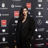 Alba Flores posa en la alfombra roja de los Premios Feroz 2020