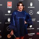 Candela Peña posa en los Premios Feroz 2020