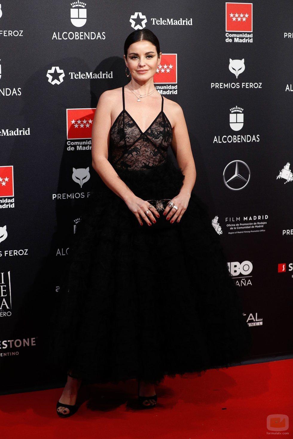 Marta Torné posa en los Premios Feroz 2020