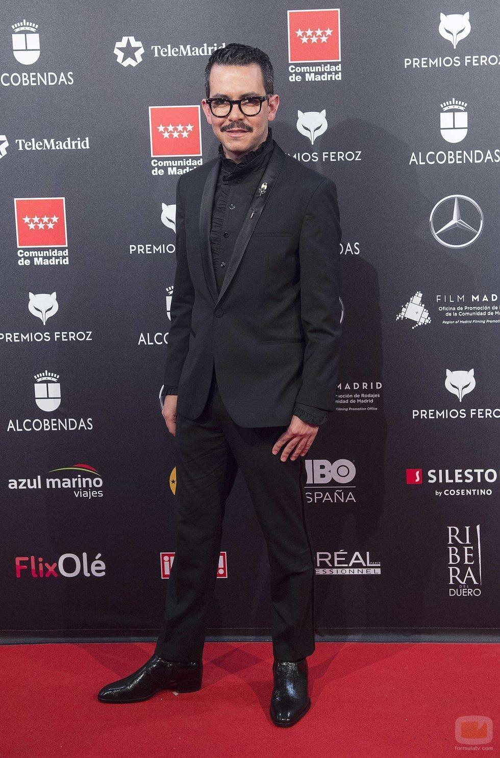 Manolo Caro en los Premios Feroz 2020