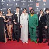 El equipo de 'Paquita Salas' posa en los Premios Feroz 2020