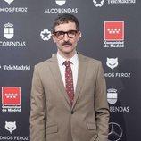 Julián Villagrán en la alfombra roja de los Premios Feroz 2020
