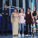 Ariadna, Nick, Rafa y Samantha, propuestos por el jurado en la Gala 1 de 'OT 2020'