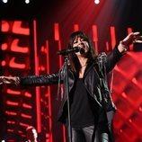 """Vanesa Martín, cantando """"Caída libre"""" en la Gala 1 de 'OT 2020'"""