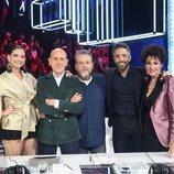 El jurado de 'OT 2020' y Roberto Leal en la Gala 1