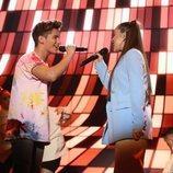 "Nick y Eva cantan ""Little Talks"" en la Gala 1 de 'OT 2020'"